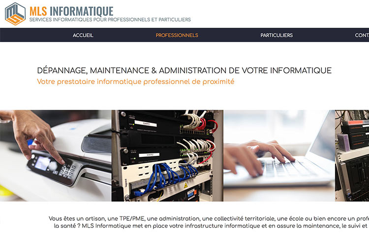 site web mls informatique par arnaudcom